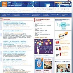 Association des professionnels de l'information et de la documentation - Site national