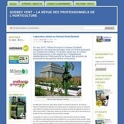Quebec Vert - La revue des professionnels de l'horticulture