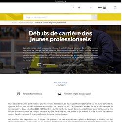 Débuts de carrière des jeunes professionnels - La Fabrique de l'industrie