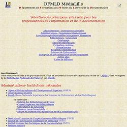 Les principaux sites web pour les professionnels de l'information