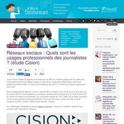 Réseaux sociaux : Quels sont les usages professionnels des journalistes ? (étude Cision)