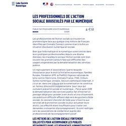 Les professionnels de l'action sociale bousculés par le numérique - Laboratoire d'Analyse et de Décryptage du Numérique