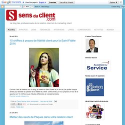 Sens du client - Le blog des professionnels du marketing client