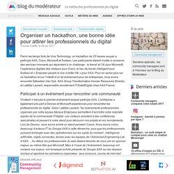 Organiser un hackathon, une bonne idée pour attirer les professionnels du digital - Blog du Modérateur