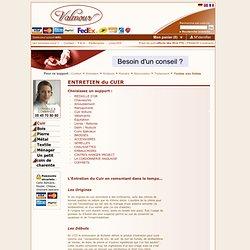 Catalogue Valmour - Page de présentation du Cuir