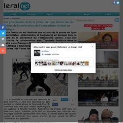 Les professionnels de la presse en ligne initiés sur les enjeux de la prévention de l'extrémisme violent en Afrique