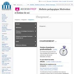 Mallette Motivation et Estime de Soi-La gestion des emotions-Gestes et postures professionnels specifiques — Wikiversité