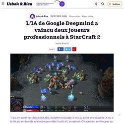 L'IA de Google DeepMind a vaincu deux joueurs professionnels à StarCraft