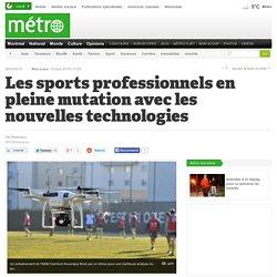Les sports professionnels en pleine mutation avec les nouvelles technologies