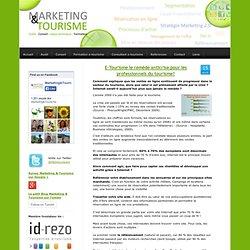 E-Tourisme le remède anticrise pour les professionnels du tourisme? - Marketing & Tourisme - etourisme et webmarketing