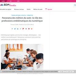 Panorama des métiers du web : le rôle des professions emblématiques du numérique