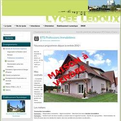 BTS Professions Immobilières » Lycée C.N. LEDOUX