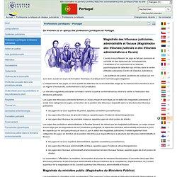 Professions Juridiques au Portugal