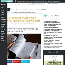 Métiers de l'édition : 5 professions à découvrir — madmoiZelle.com