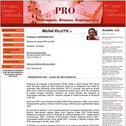 PRO : Professions, Réseaux, Organisations