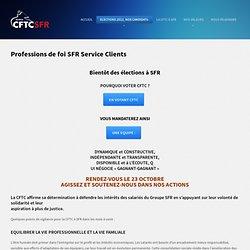 Professions de foi SFR Service Clients