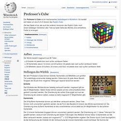 Professor's Cube