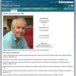 Professor Ian Stewart, FRS