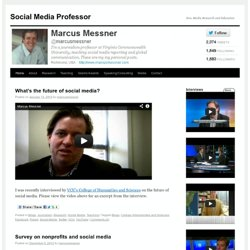 Social Media Professor | New Media Research and Education