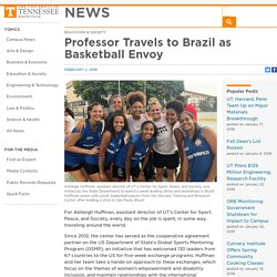 Professor Travels to Brazil as Basketball Envoy – News