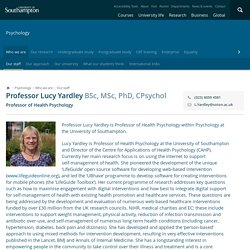 Professor Lucy Yardley