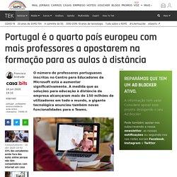 Portugal é o quarto país europeu com mais professores a apostarem na formação para as aulas à distância - Internet
