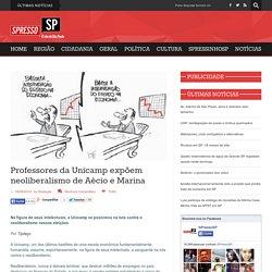 Professores da Unicamp expõem neoliberalismo de Aécio e Marina