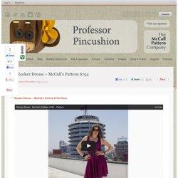Rocker Dresss - McCall's Pattern 6754 - ProfessorPincushion