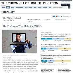 The Professors Behind the MOOC Hype - Technology
