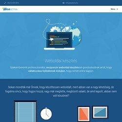 Professzionális, reszponzív weboldal készítés