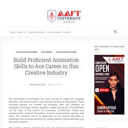 Build Proficient Animation Skills to Ace Career in this Creative Industry