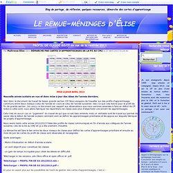PROFIL DE CLASSE GS/CP en vue de la rentrée 2013