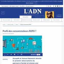 Profil des consommateurs ROPO ?