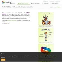 PROFIL4 : Test DISC essentiel gratuit en 25 questions...