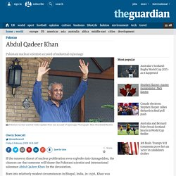 Profile: Abdul Qadeer Khan