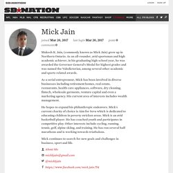 Mick Jain a Canadian Businessman
