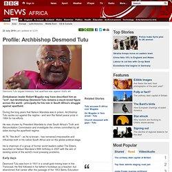 Profile: Archbishop Desmond Tutu