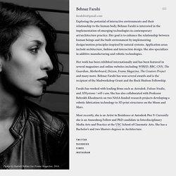 Profile ∙ Behnaz Farahi