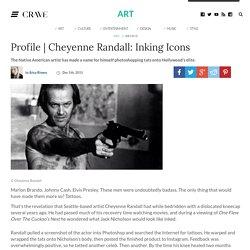 Cheyenne Randall: Inking Icons