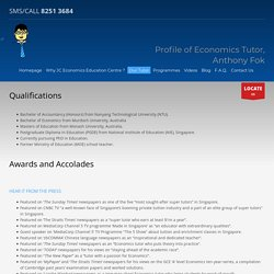 JC Economics Tuition Singapore
