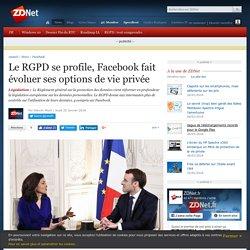 Le RGPD se profile, Facebook fait évoluer ses options de vie privée