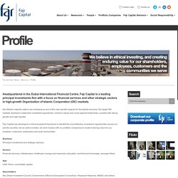Profile « Fajr Capital