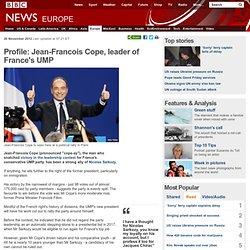 Profile: Jean-Francois Cope, leader of France's UMP