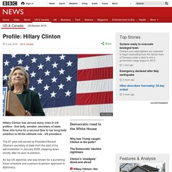 Profile: Hillary Clinton
