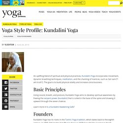 Yoga Style Profile: Get to Know Kundalini Yoga