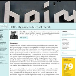 Profile: Michael Bierut:
