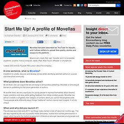 Start Me Up! A profile of Movellas