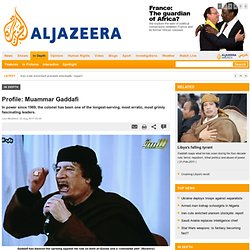Profile: Muammar Gaddafi - In Depth