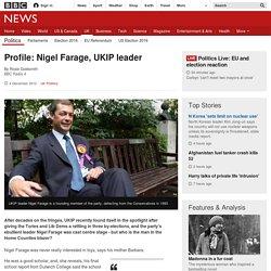 Profile: Nigel Farage, UKIP leader