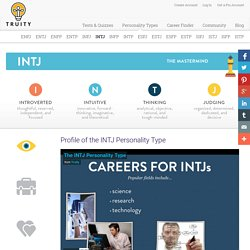 Profile of the INTJ Personality Type